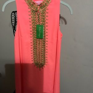 Lilly Pulitzer Jane Shift Sunrise Coral